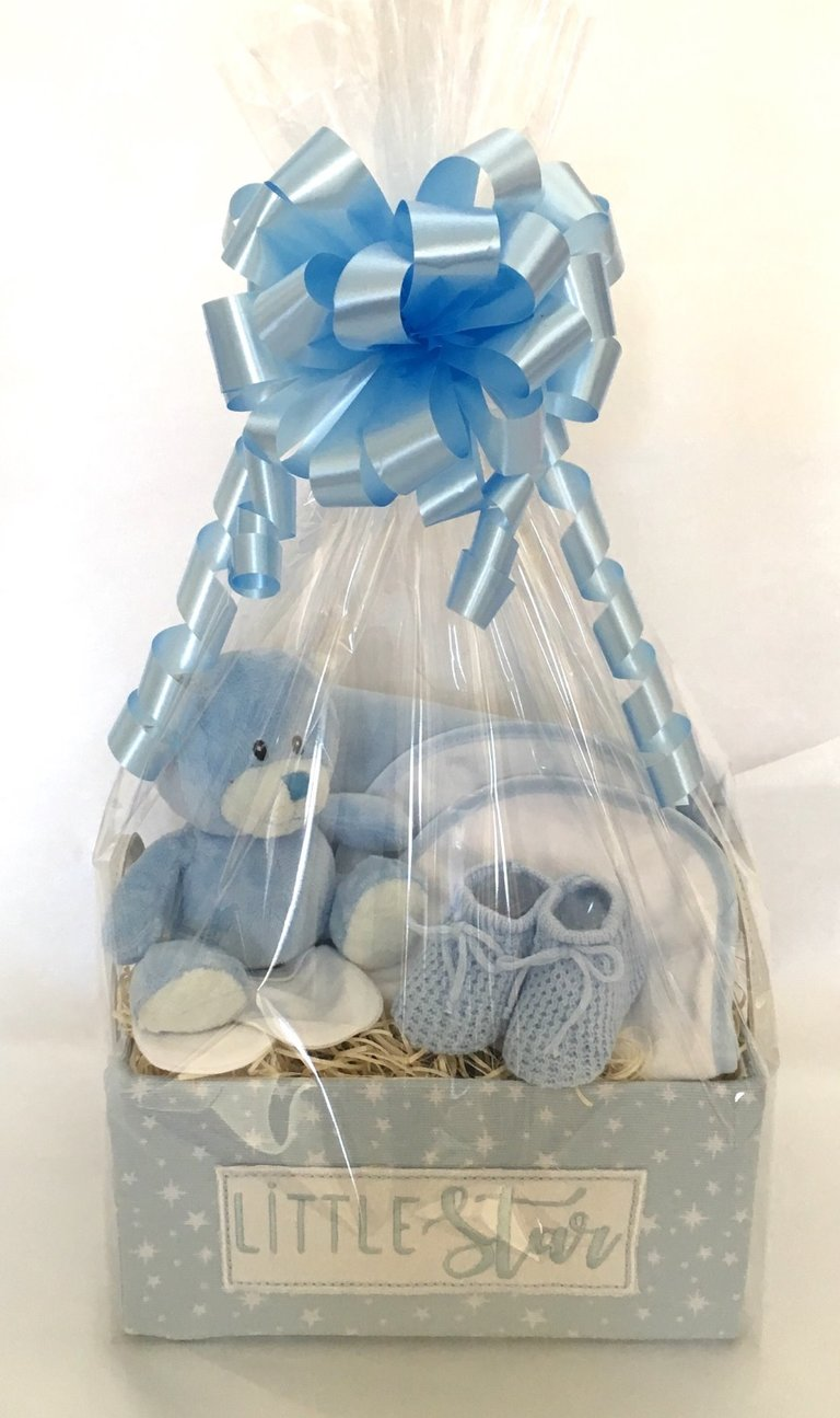 baby new boy gift baskets hamper