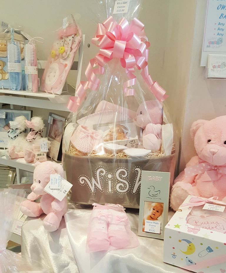 New Baby Girl Gifts Hamper Bedford