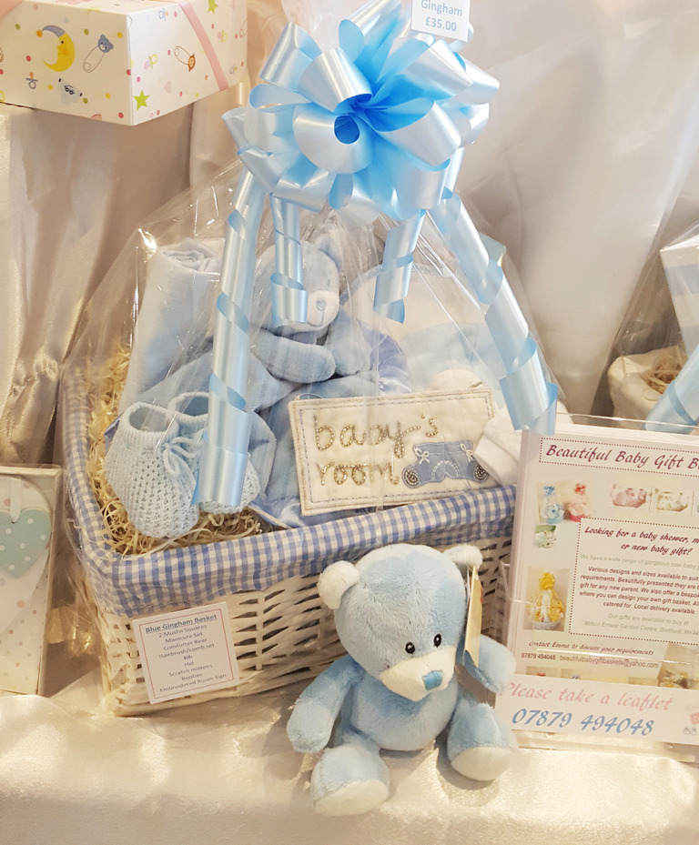 Gift Basket for baby boy