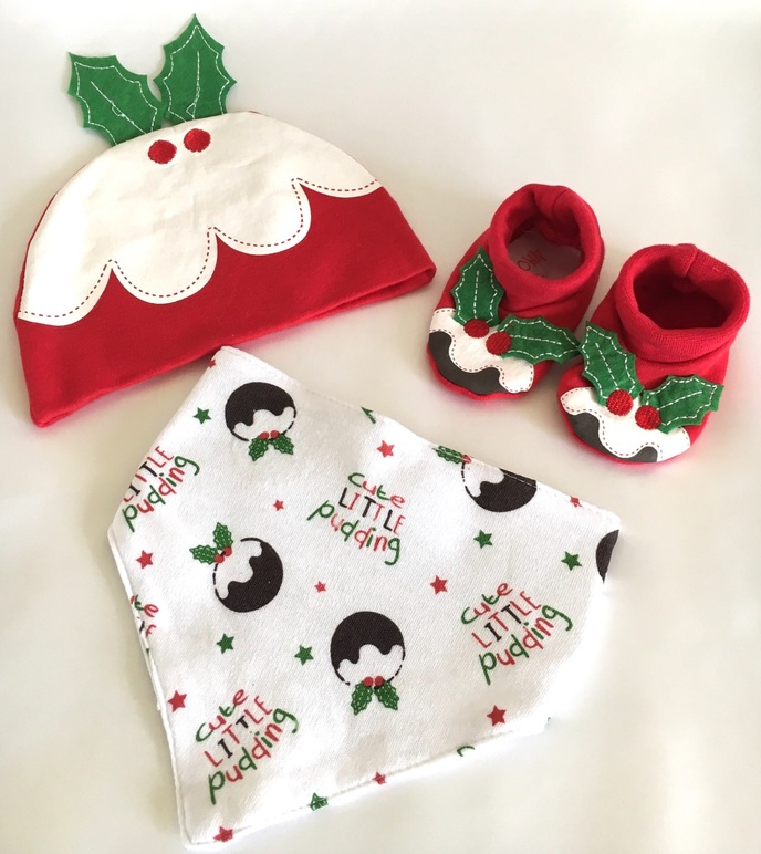 Christmas Pudding Baby Gift Set