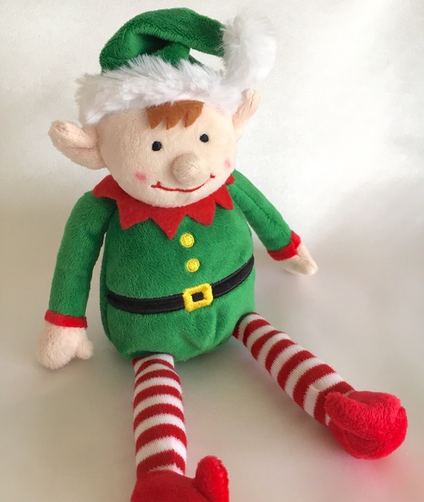 keel plush elf soft toy baby gift