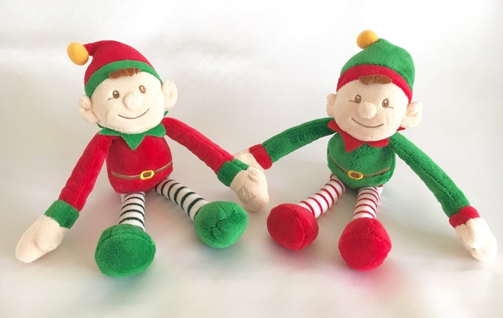 Dangling Elf Soft Toy
