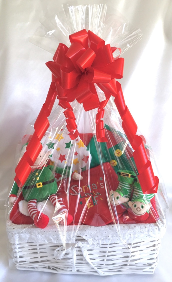 Elf Baby Gift Basket Hamper
