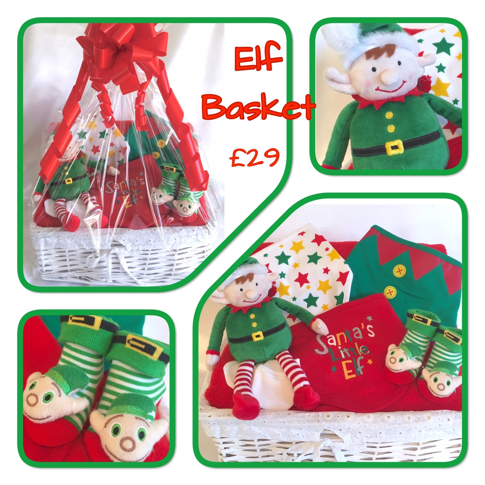 baby elf gift basket bedford elves gift