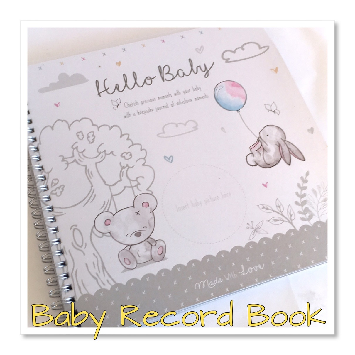 Hugs & Kisses Record Book First Year