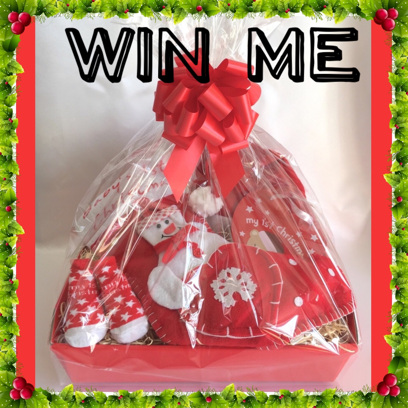 Competition Facebook Win Baby Gift Basket