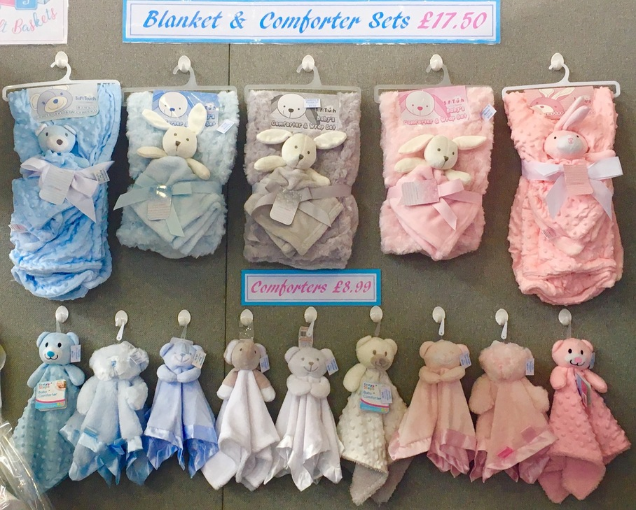 Baby Comforters Blankets Gifts