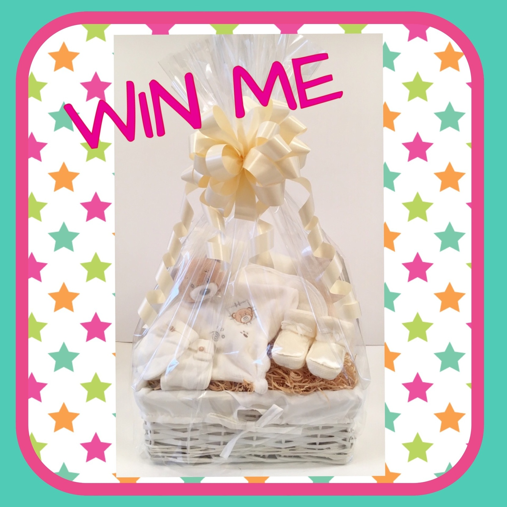 Competition win baby gift basket