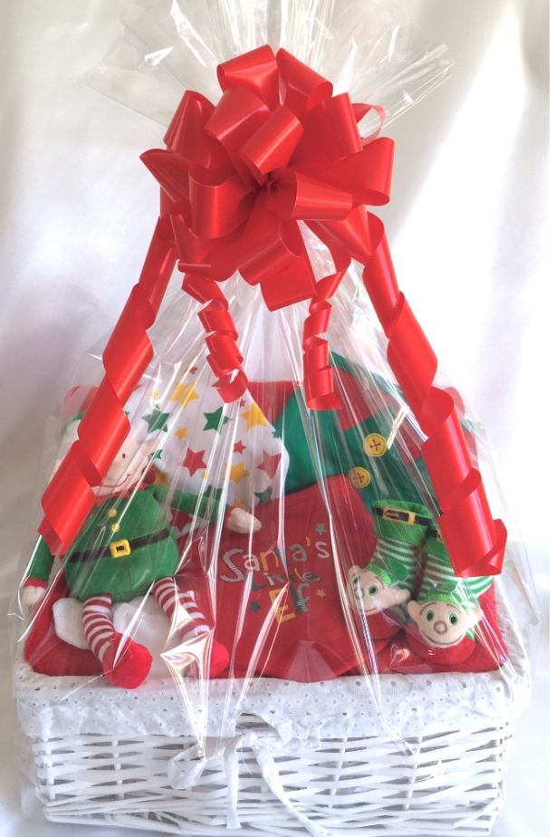 Elf Baby Gift Basket