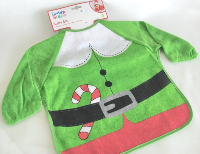 Long Sleeved Elf Bib