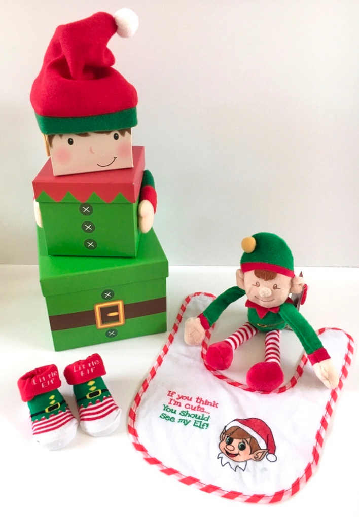 Stacking Elf Gift Box Set
