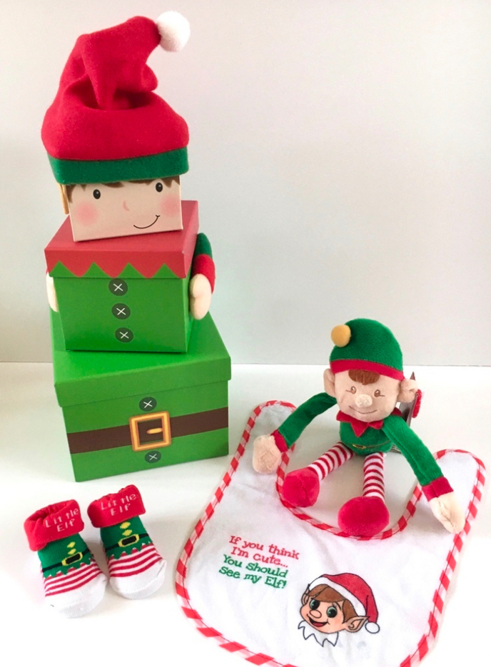 Elf Stacking Baby Gift Boxes
