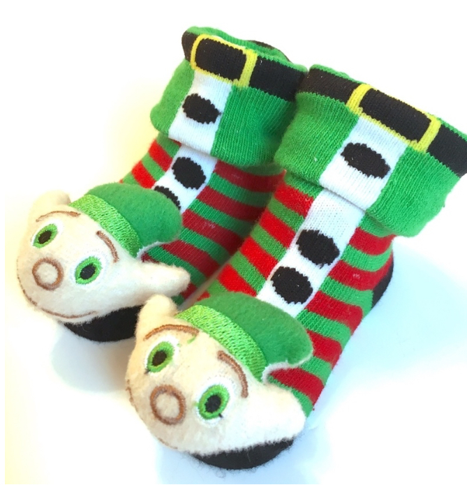 Elf Baby Socks