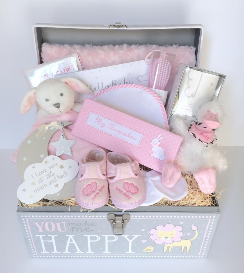 Bespoke Gift Basket for a Baby Girl