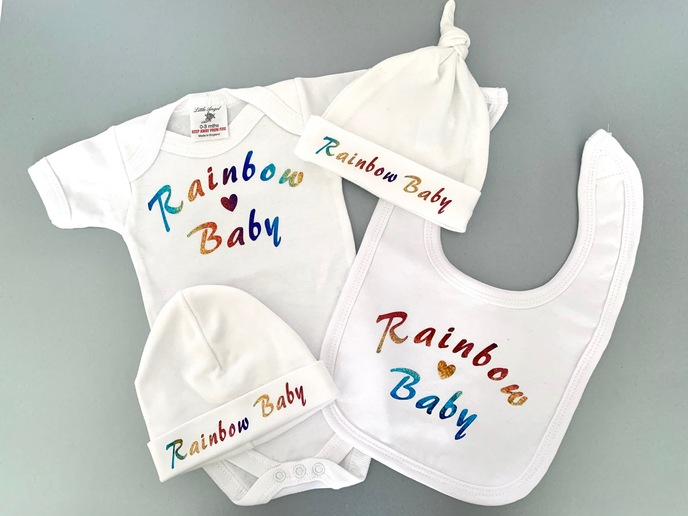 Rainbow Baby Printed Clothing