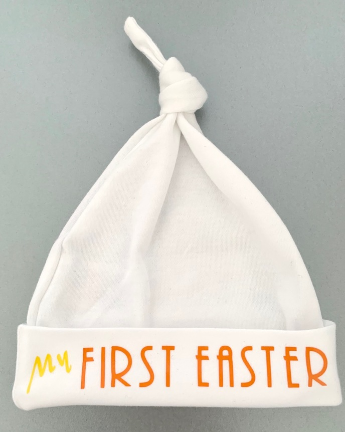 My First Easter Baby Hat