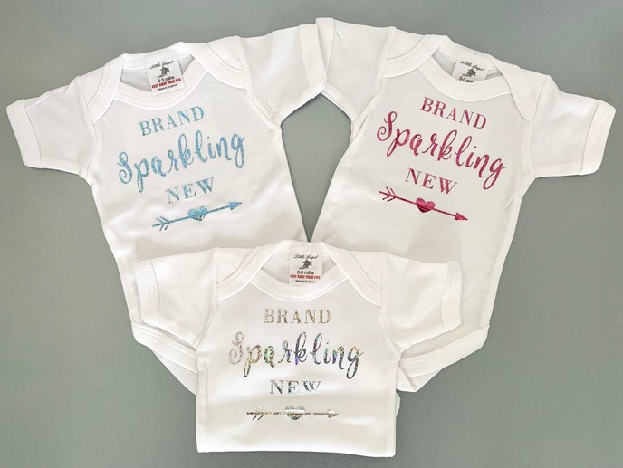 Brand Sparkling New Baby Vests