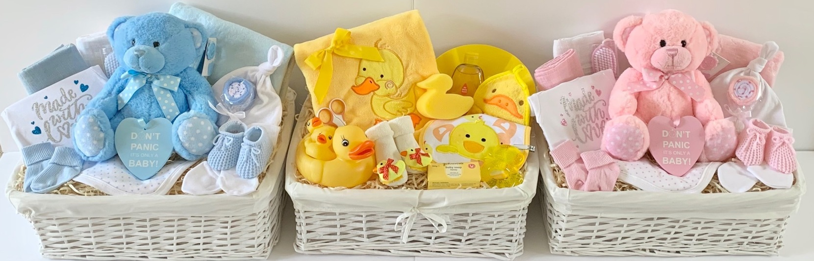 baby gift baskets hampers