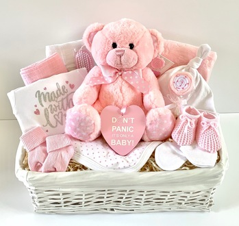 Luxury Baby Girl Gift Basket