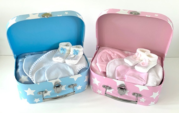 Baby Girl and Boy Gift Cases