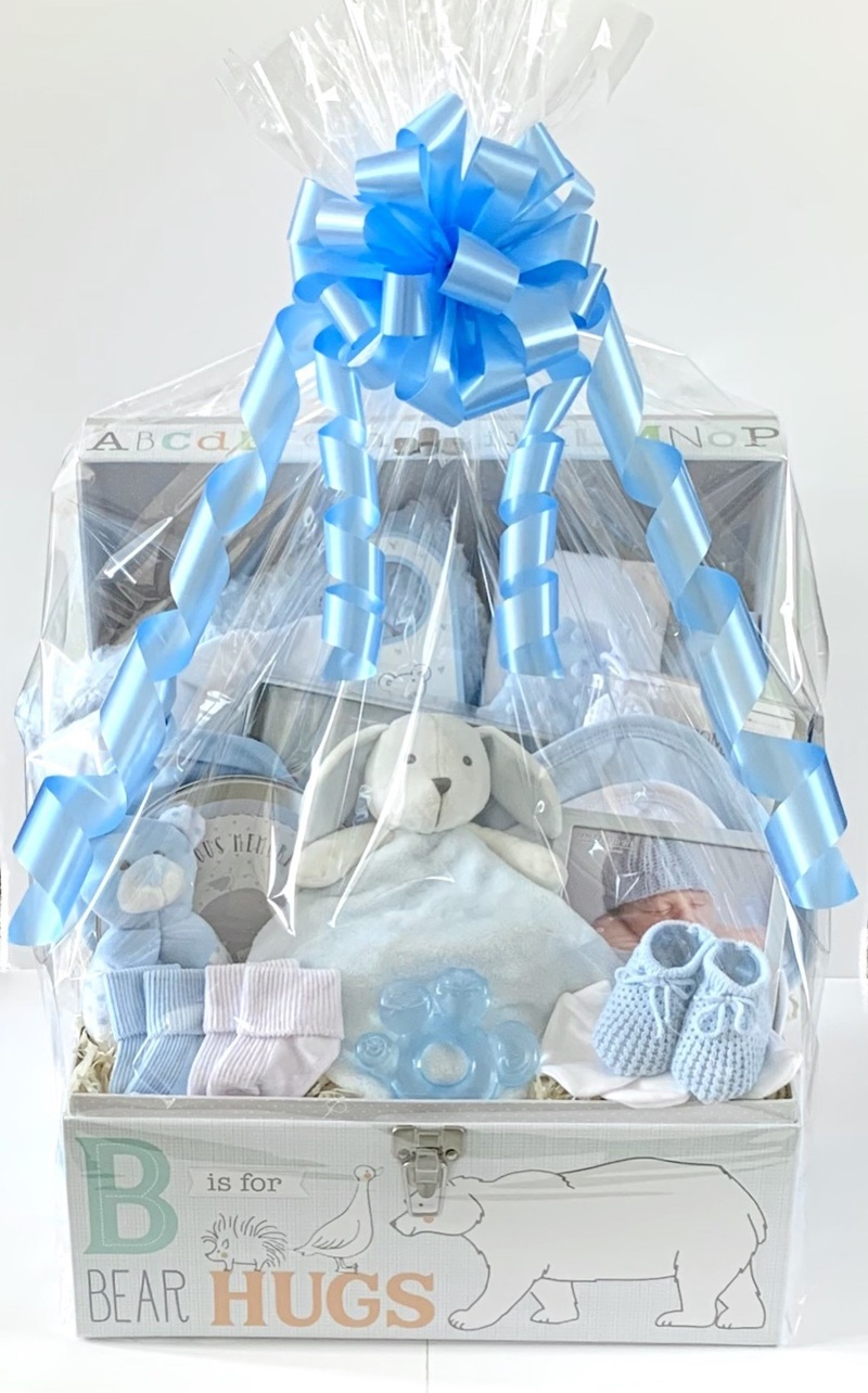 Bespoke Gift Basket for a Baby Boy
