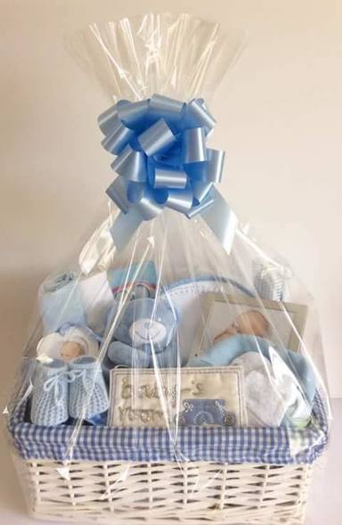 Blues baby boy gift basket bedford