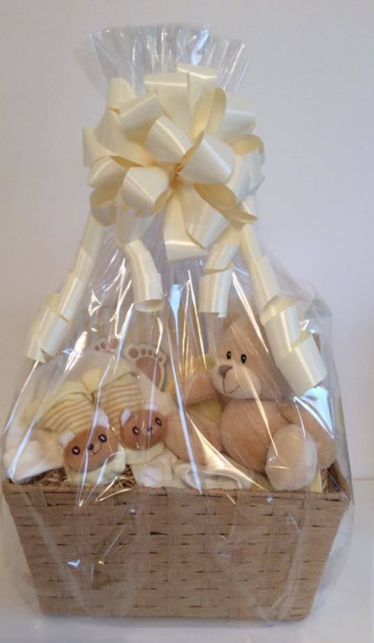 Imprint kit baby gift basket