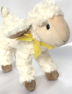 Easter Lamb Soft Toy